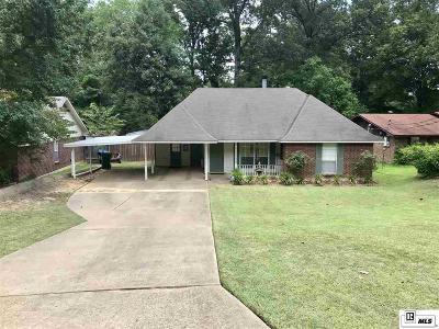 West Monroe Single Family Home New Listing: 119 Hardwood Drive