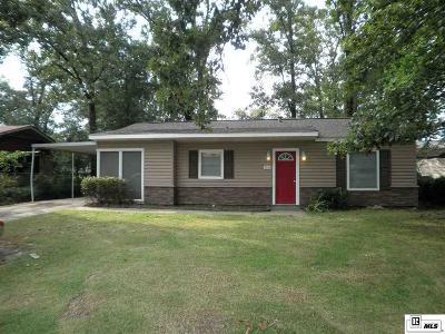 West Monroe Single Family Home New Listing: 100 Ada Street