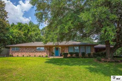 West Monroe Single Family Home New Listing: 201 Kings Drive