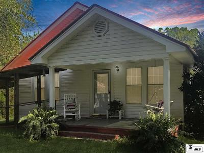 West Monroe Single Family Home New Listing: 192 Norman Pinton Road