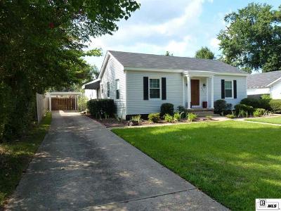 Monroe Single Family Home New Listing: 803 Glenmar Avenue
