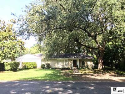 Monroe Single Family Home New Listing: 1701 Milton Street