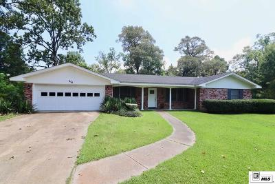 West Monroe Single Family Home New Listing: 402 Belmont Drive