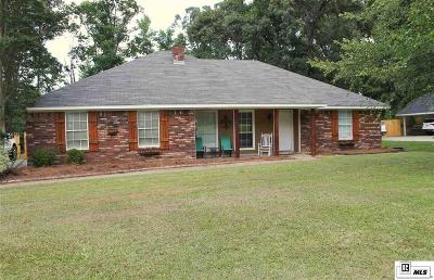 West Monroe Single Family Home New Listing: 116 Parkwood Boulevard