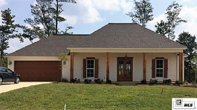 Ruston Single Family Home For Sale: 165 Buck Meadow