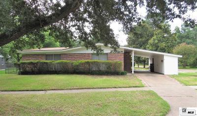 Monroe Single Family Home For Sale: 2700 Fort Miro Avenue