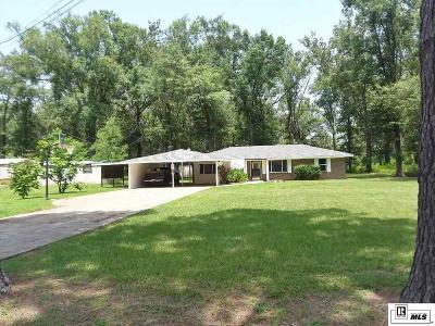 West Monroe Single Family Home Back On Market: 318 Brown Street