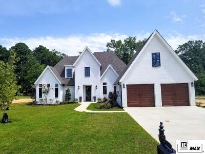 West Monroe Single Family Home For Sale: 112 Belle Vue Drive