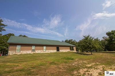 West Monroe Single Family Home For Sale: 688 E Puckett Lake Road
