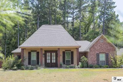 Dubach Single Family Home For Sale: 140 Fleur De Lis Drive