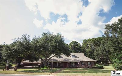West Monroe Single Family Home For Sale: 601 Island Drive