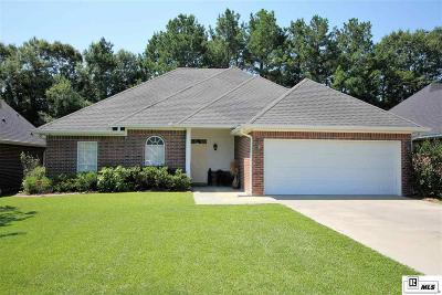 West Monroe Single Family Home Active-Pending: 453 Kendall Ridge Court