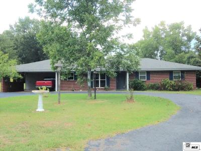 West Monroe Single Family Home For Sale: 624 Highway 34