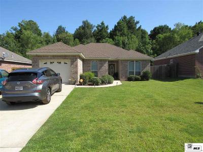 West Monroe Single Family Home Active-Pending: 124 Autumn Place Drive