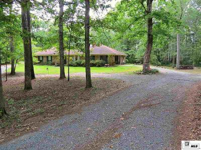 West Monroe Single Family Home For Sale: 530 Tull Road