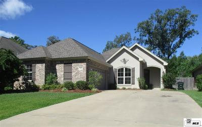 West Monroe Single Family Home New Listing: 713 Janna Drive