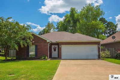 West Monroe Single Family Home Active-Pending: 134 Nan Creek Road