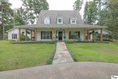 West Monroe Single Family Home New Listing: 116 Cheyenne Drive