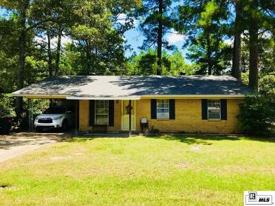 West Monroe Single Family Home New Listing: 99 Valley Hill Drive