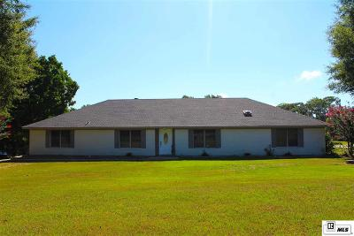 West Monroe Single Family Home For Sale: 150 Ingram Road