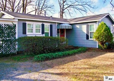 West Monroe Single Family Home For Sale: 1529 Woodland Street