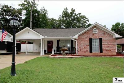 West Monroe Single Family Home New Listing: 204 Lakewood Drive