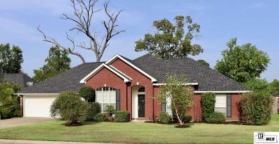 West Monroe Single Family Home New Listing: 112 Steeplechase Circle