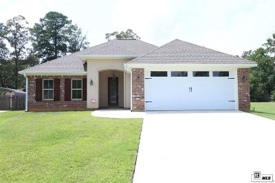 West Monroe Single Family Home New Listing: 121 Creole Lane