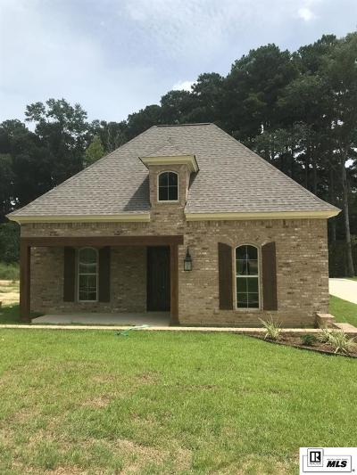 West Monroe Single Family Home New Listing: 117 Westlakes Drive