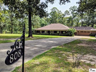 West Monroe Single Family Home New Listing: 808 Comanche Trail