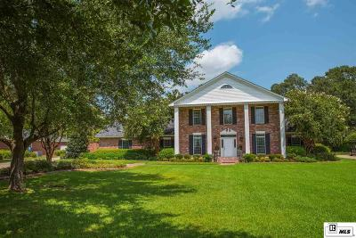 Monroe Single Family Home For Sale: 1523 Frenchmans Bend Road