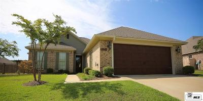 Ruston Single Family Home For Sale: 1800 Decatur Drive