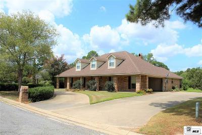 West Monroe Single Family Home For Sale: 213 Lake Village Drive