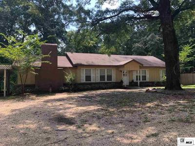 Lincoln Parish Single Family Home Active-Pending: 147 Pint Road