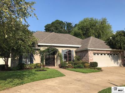 West Monroe Single Family Home For Sale: 107 Gretchens Walk