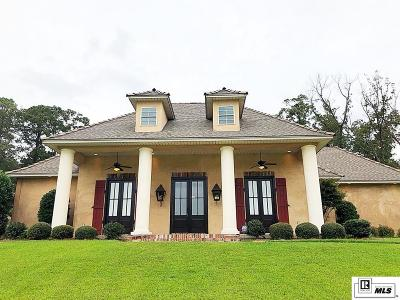 West Monroe Single Family Home Active-Price Change: 107 Versailles Boulevard