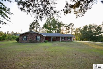 Dubach Single Family Home For Sale: 799 Rock Shop Road