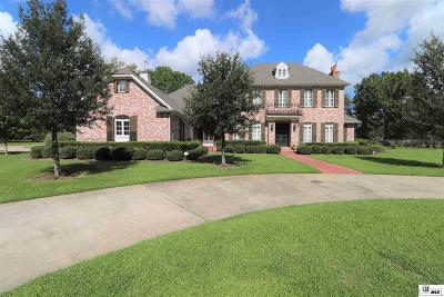 Monroe Single Family Home For Sale: 134 E Frenchmans Bend Road