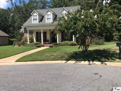 West Monroe Single Family Home For Sale: 109 Creekside Drive