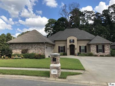 West Monroe Single Family Home For Sale: 101 Versailles Boulevard