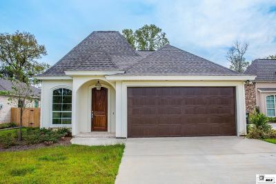Monroe Single Family Home For Sale: 119 River Styx Drive