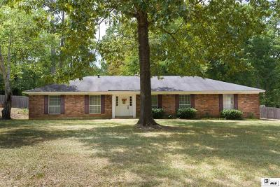 Ruston Single Family Home For Sale: 2803 Tara Drive