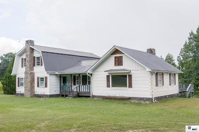 Choudrant Single Family Home For Sale: 6246 Highway 33