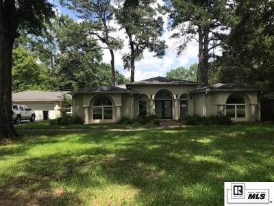 Monroe Single Family Home For Sale: 2220 Pargoud Boulevard