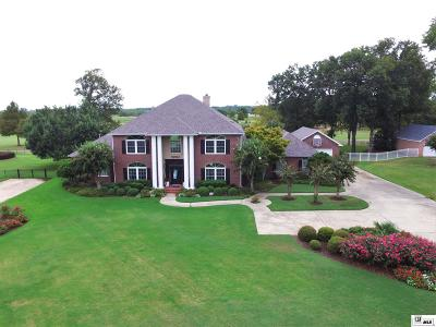 Monroe Single Family Home For Sale: 212 E Frenchmans Bend Road