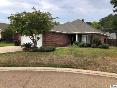 Ruston Single Family Home Pending Continue To Show: 1105 Lisa Lane