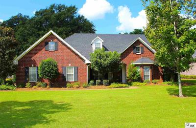 Monroe Single Family Home For Sale: 1417 Frenchmans Bend Road