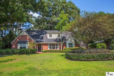 Monroe Single Family Home For Sale: 2715 Indian Mound Boulevard