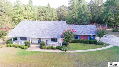 Lincoln Parish Single Family Home Active-Pending: 111 Russell Road