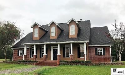 West Monroe Single Family Home Active-Pending: 277 Little Lake Road